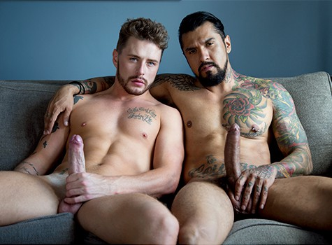 Big Dicked Josh Moore & Boomer Banks!