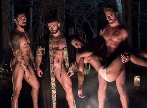 Jake Jaxson's All Saints - Part 4: Boomer Banks, Josh Moore, Ricky Roman & Francois Sagat