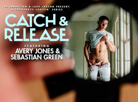 CATCH & RELEASE: Avery Jones & Sebastian Green