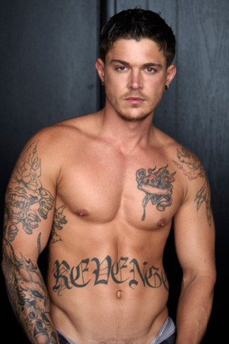 from Franklin bird tattoo gay porn actor